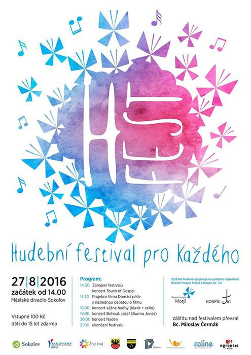 plakát Hospicfest 2016